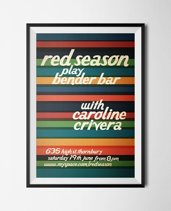 Red Season Bender Bar