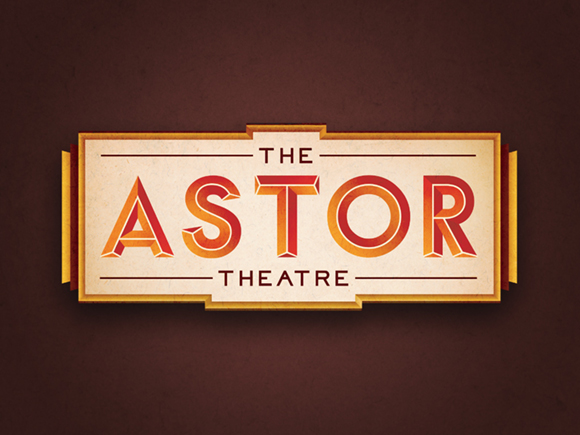 THE ASTOR THEATRE LOGO
